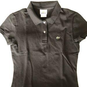 Lacoste Tops - Lacoste Women's Cotton Pique Polo Shirt 2 buttons